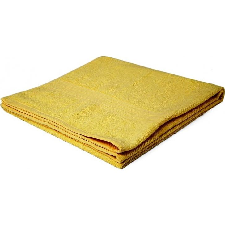 Portico New York Eva Face Towel 30 cms x 30 cms in Turmeric Yellow Color by Portico