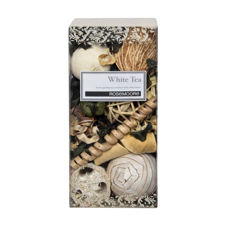 Rosemoore Scented Pot Pourri White Tea Home Fragrances in White Colour by Rosemoore