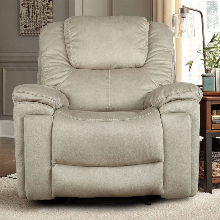 Argos Fabric Single Seater Electric Recliner With Triple Motion in Camel Colour by HomeTown