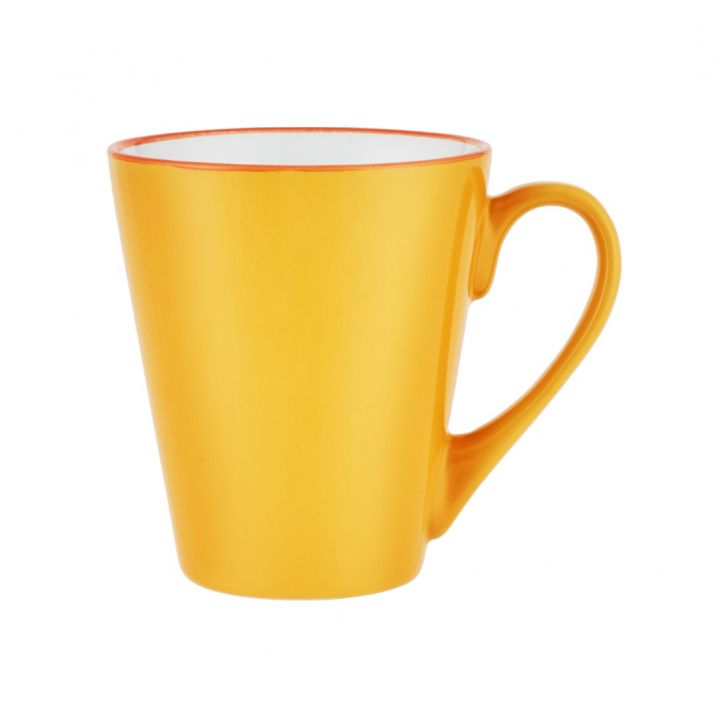 Yellow Coffee Mug Ceramic Coffee Mugs in Yellow Colour by Living Essence