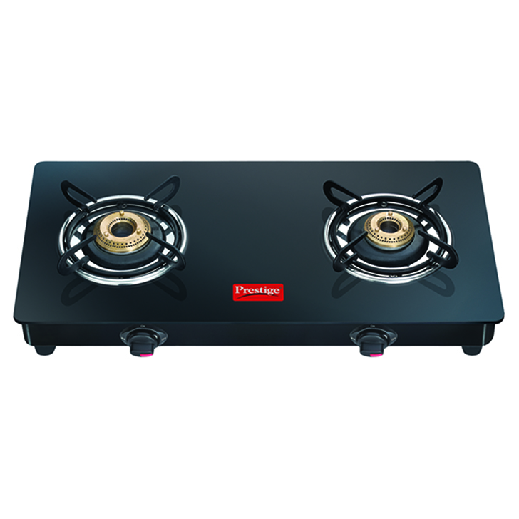 Prestige Stainless steel Cooktops in Black Colour by Prestige