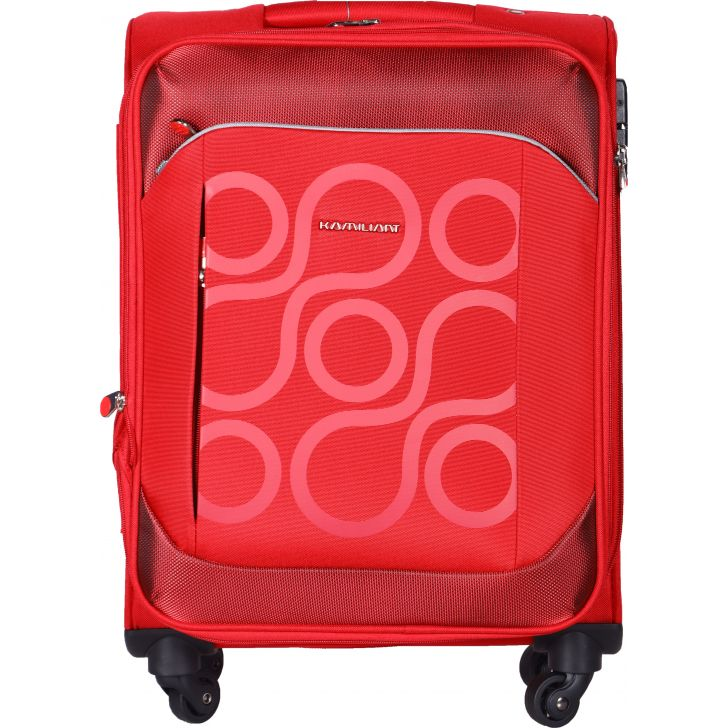 KAM HARITA PolYester Soft Trolley in Red Colour by Kamiliant by American Tourister