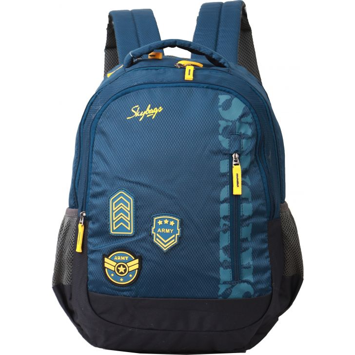 Skybags Stream Backpack (Dark Blue)