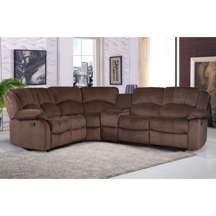 Rhea Fabric Lounger in Brown Colour by HomeTown