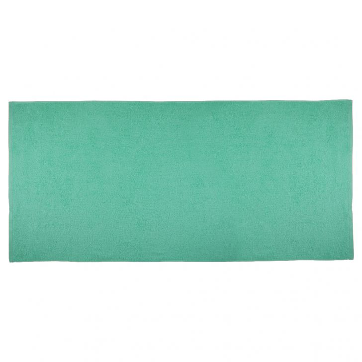 Fiesta Cotton Bath Towels in Sea Green Colour by Living Essence