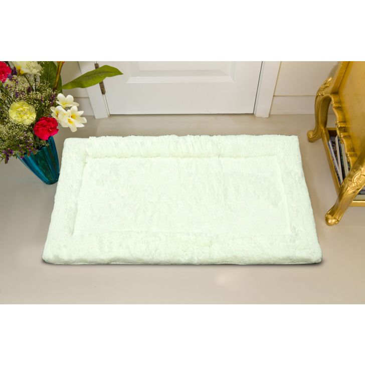Spaces Hygro White Small Bath Mat