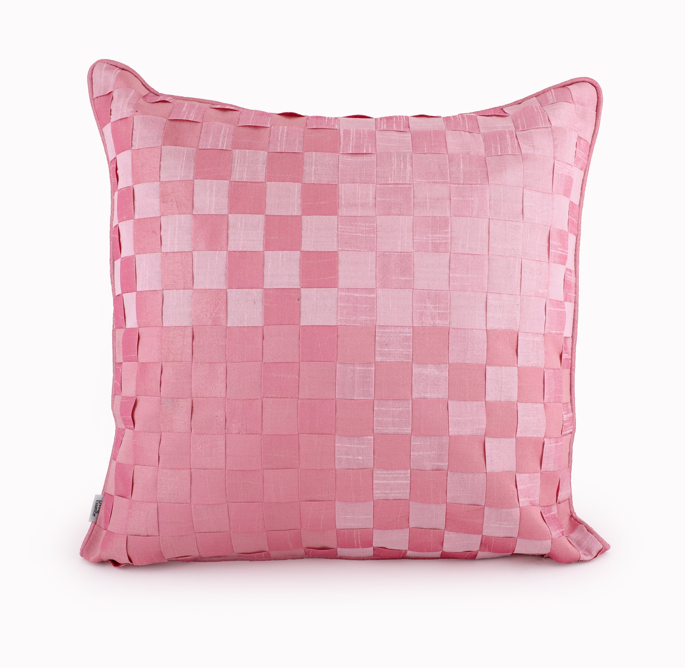 Basket Rose Cushion Cover Cotton Cushion Covers in Rose Colour by HomeTown