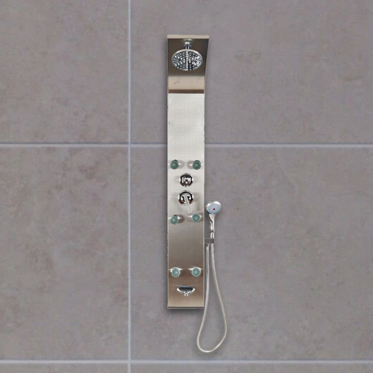 Spark Shower Panel in Steel Colour by HomeTown