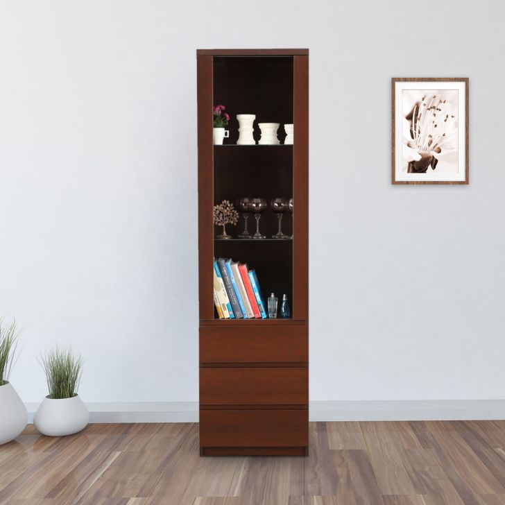 Aurelus Engineered Wood Column Unit in Brown Colour by HomeTown