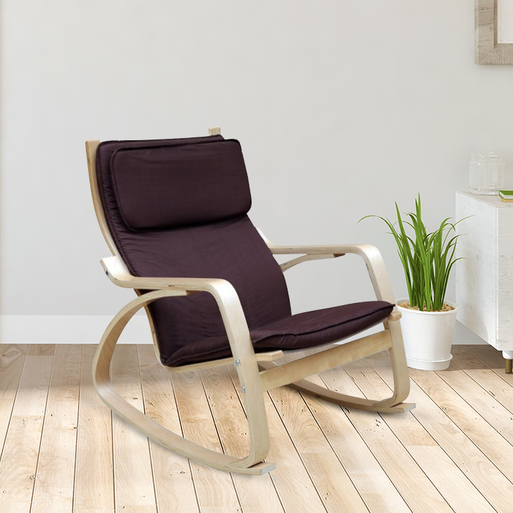 Vita Plywood Outdoor Chair in Brown Colour by HomeTown