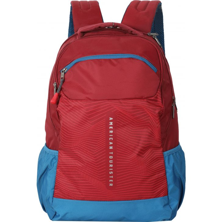 American Tourister Jazz Nxt-02 Backpack (Red)