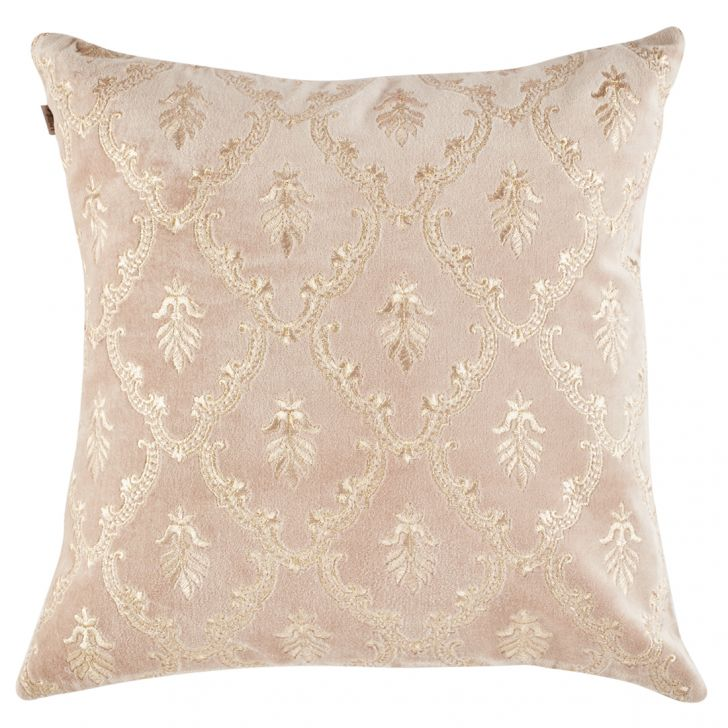 Classique Polyester Cushion Covers in Beige Colour by Living Essence