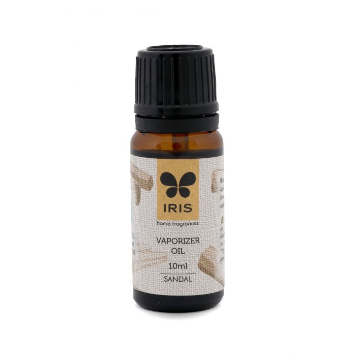 Iris Sandal Elevating, Tranquil Oil Scented Oil in Sandal Colour by HomeTown