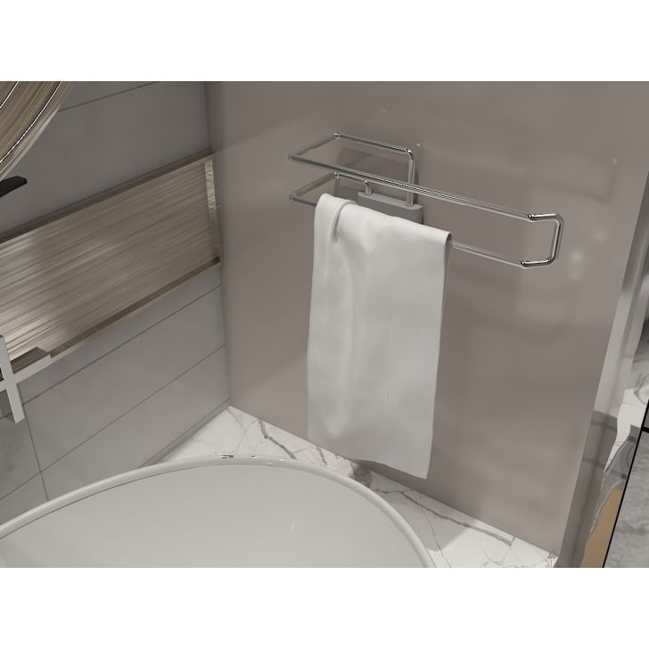 Dura Cucine Stainless steel Hand Towel Holder in Chrome Colour by Hettich