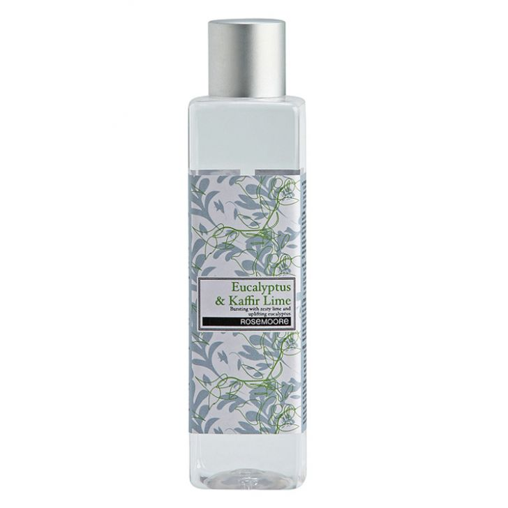 Reed Diffuser Refill Eucalyptus & Kaffir Lime Home Fragrances in Grey Colour by Rosemoore
