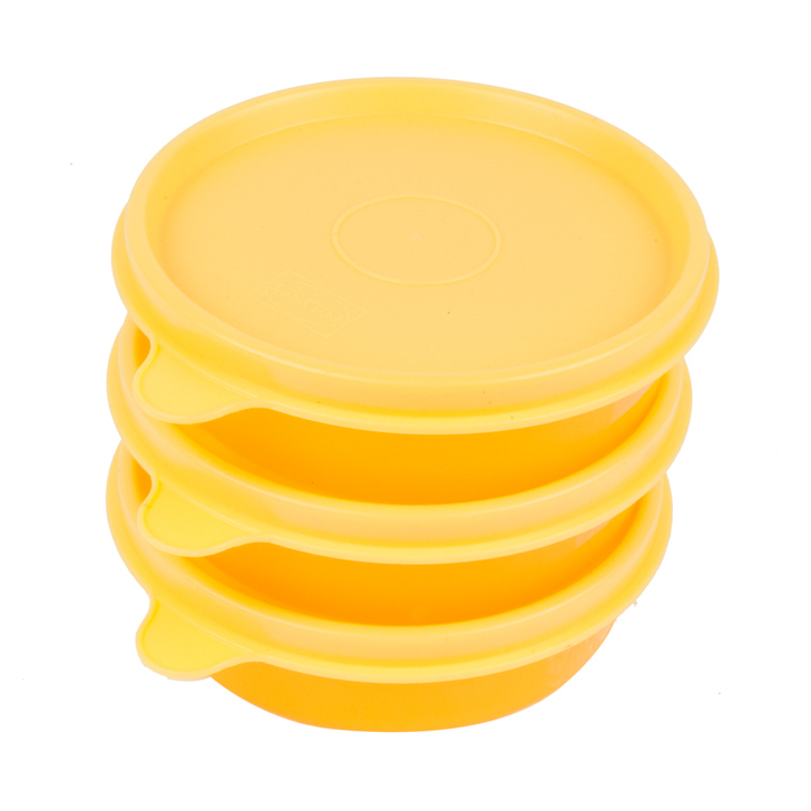 Magic Seal Round Container (Pack Of 3) by Polyset