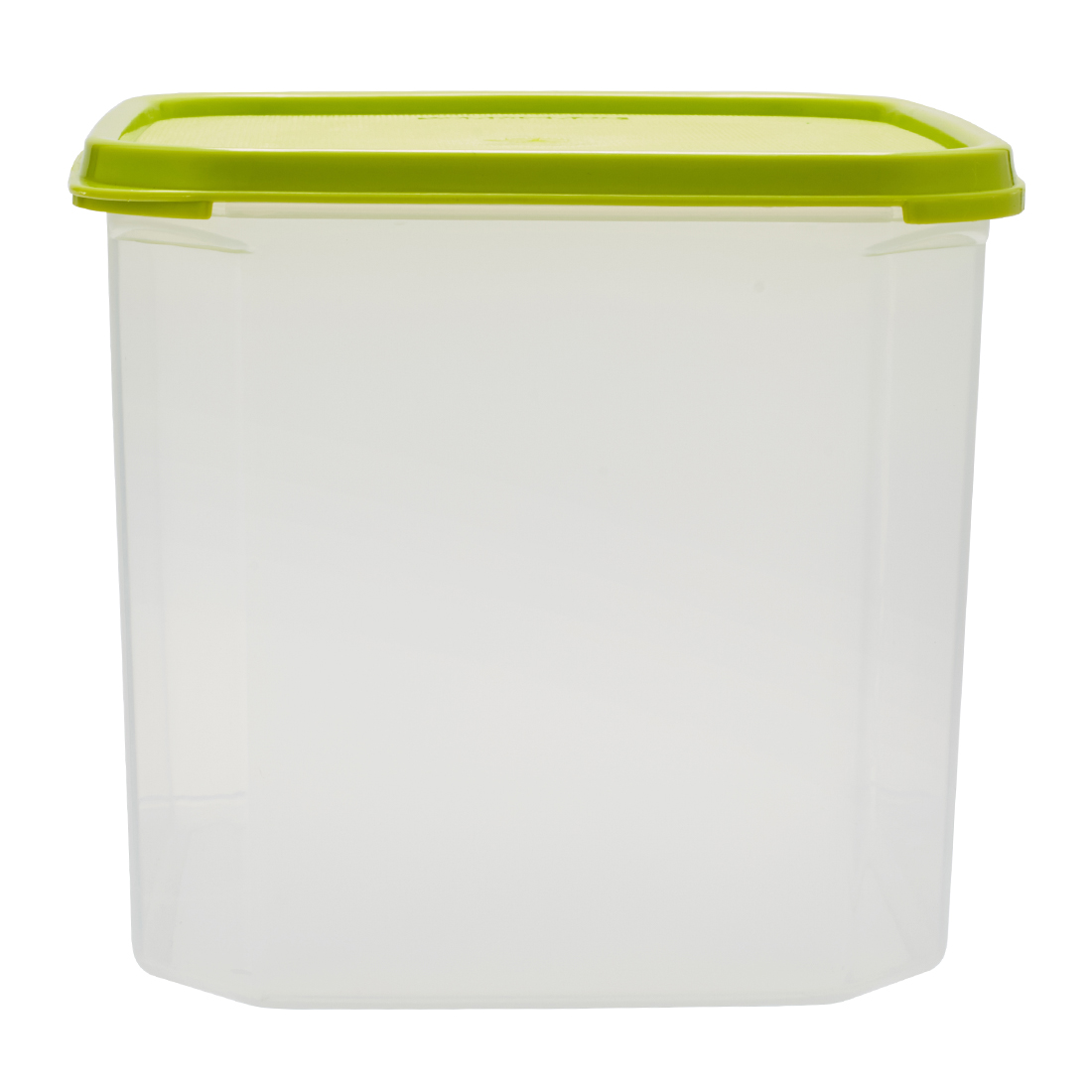 Kitchen Modular Square 4.2 Ltr Green Plastic Containers in Green Colour by Living Essence