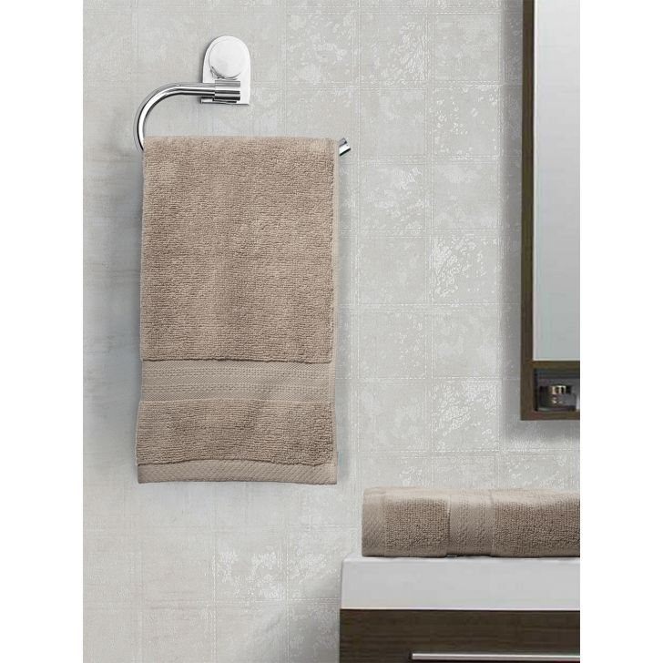 Paradiso Cotton Set Of 2 Hand Towel 40X60 Cm 500 Gsm in Wheat Colour