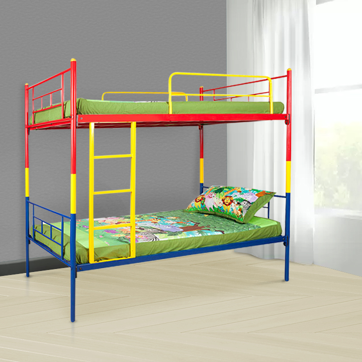 Sydney Mild Steel Bunk Bed in Multi-Colour Colour by HomeTown