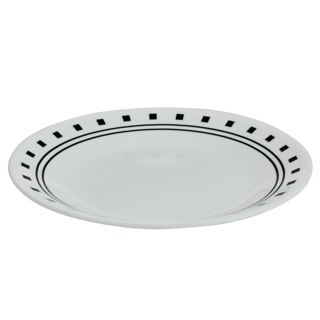 Corelle Small Plate City Vitrelle Plates in White Colour by Corelle