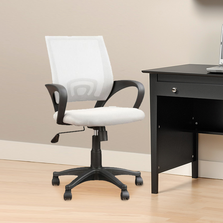 Regal Nylon Office Chair in Grey Colour by HomeTown