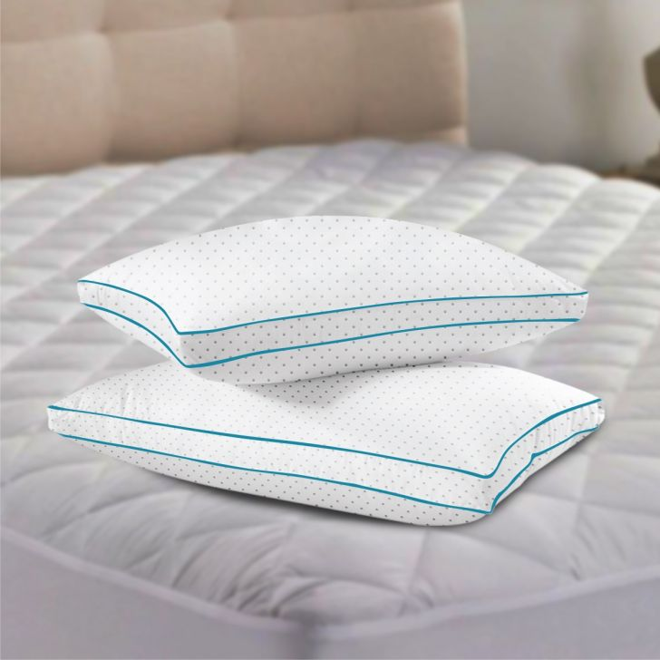 Serenity Tranquil Pillow 46X68 Cm in White Colour by Living Essence