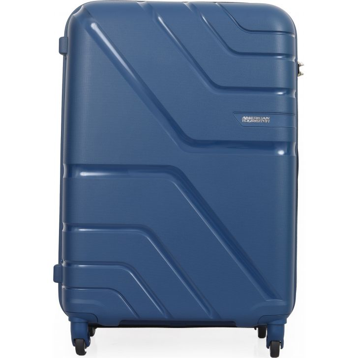 American Tourister Upland Spinner Hard Trolley 68 Cm (Marine Blue)