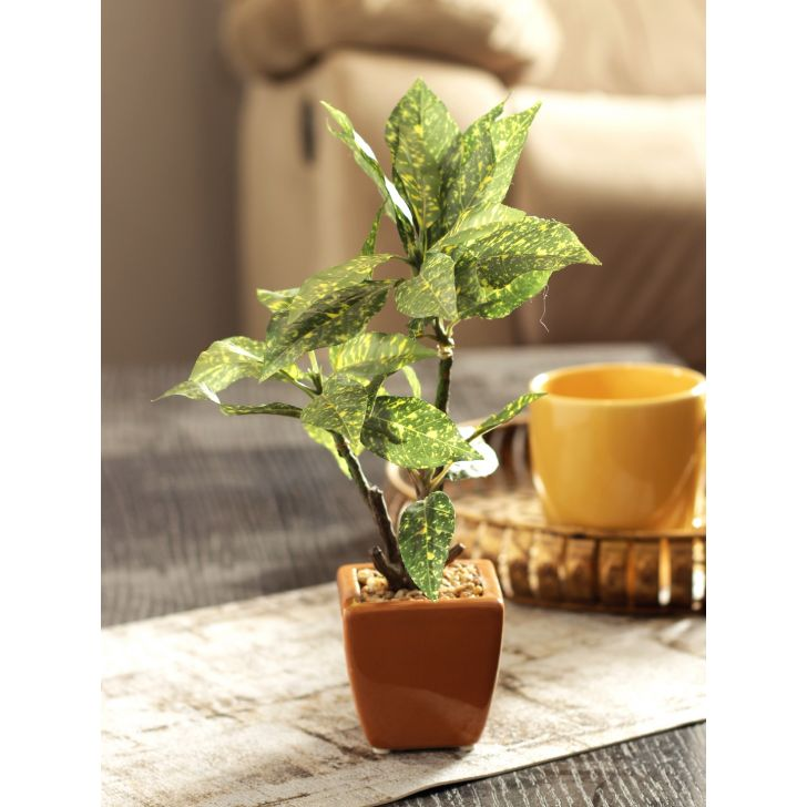 Sage Metal Artificial Plant in Green Colour by HomeTown