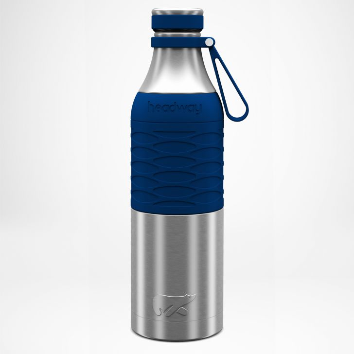 Burell Stainless steel Insulated Bottle 750 ml in Navy Blue Colour